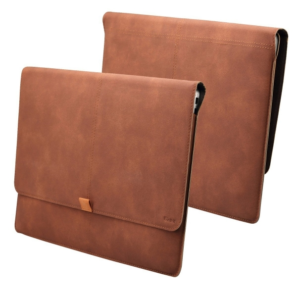 Valkit MacBook Air Deri Kılıf (13 inç)-Brown