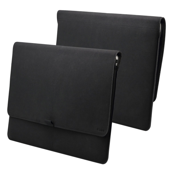 Valkit MacBook Air Deri Kılıf (13 inç)-Black