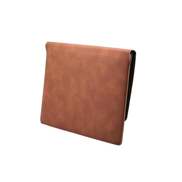 Valkit Microsoft Surface Pro 3/4 Deri Kılıf-Brown