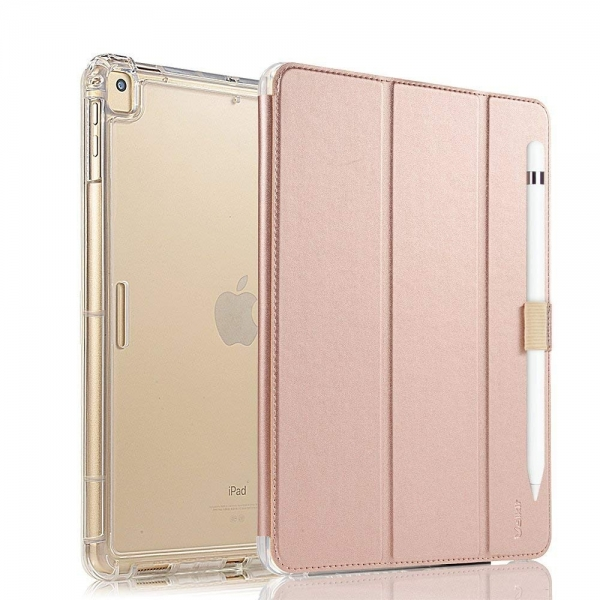 Valkit iPad Standlı Kılıf (10.2 inç)(7.Nesil)-Rose Gold