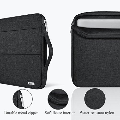 Voova MacBook Air/Pro Laptop Sleeve Çanta (13-13.3 inç)-Black
