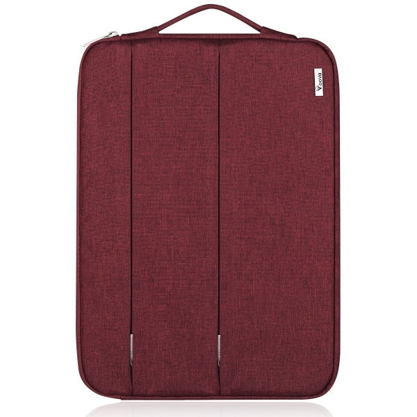 Voova MacBook Air/Pro Laptop Sleeve Çanta (13-13.3 inç)-Red