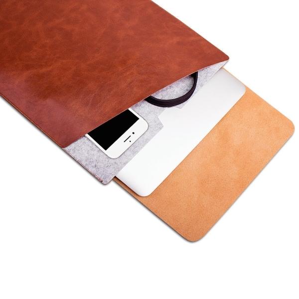 WALNEW Macbook Air Sleeve Çanta (13 inç)-Coffe
