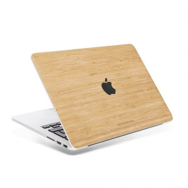 Woodcessories MacBook Pro EcoSkin Sticker (15 inç/Touchbar)-Bamboo