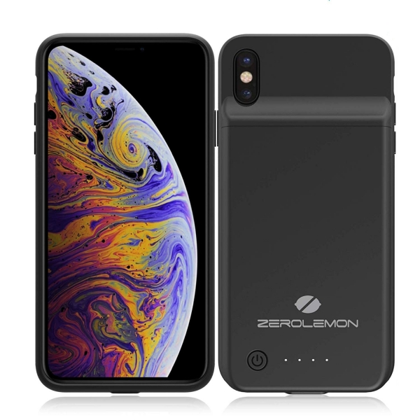 ZeroLemon Slim Juice iPhone XS Max Bataryalı Kılıf (5000mAh)