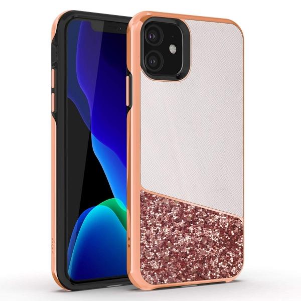Zizo Apple iPhone 11 Division Serisi Kılıf (MIL-STD-810G)-Saffiano Blush