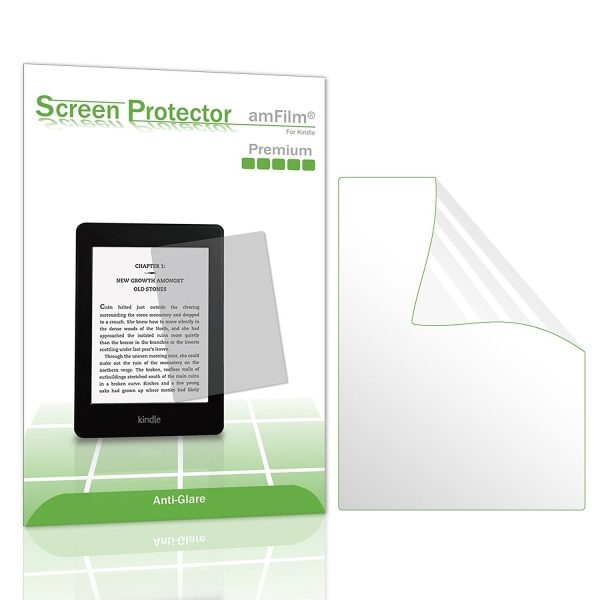 amFilm Kindle Paperwhite Mat Ekran Koruyucu Film (2 Adet)