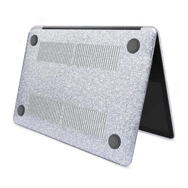 anban MacBook Air Simli Koruyucu Kılıf (Retina 13.3 inç)-Silver