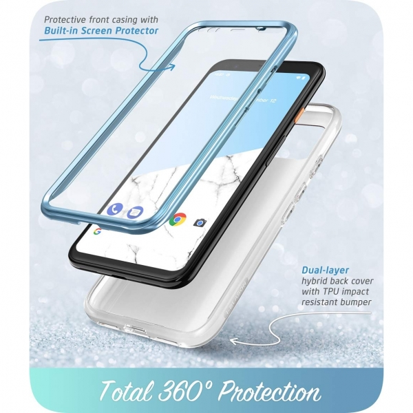 i-Blason Google Pixel 4 Cosmo Serisi Kılıf-Blue