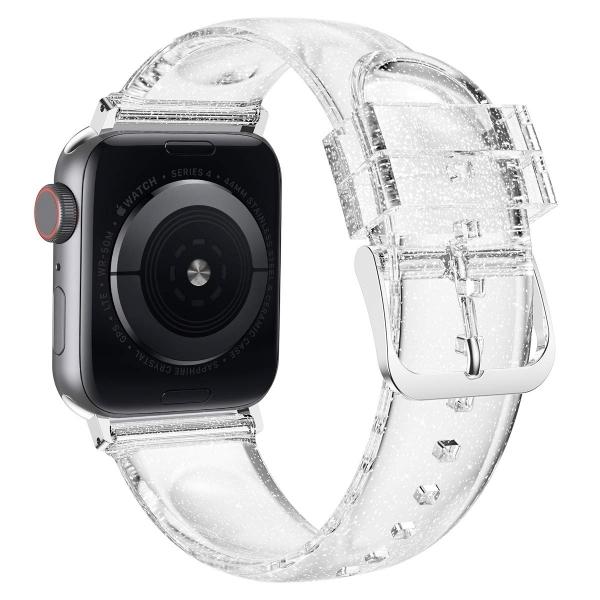 iiteeology Apple Watch Simli Kayış (42mm/44mm)-Silver