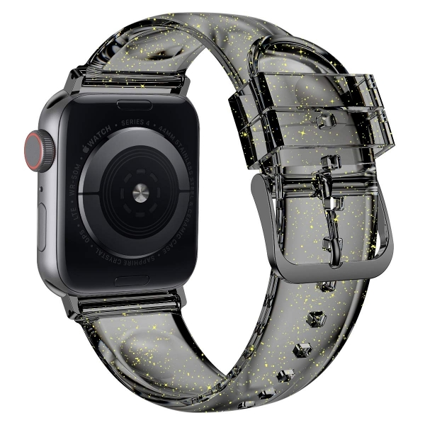 iiteeology Apple Watch Simli Kayış (42mm/44mm)-Black