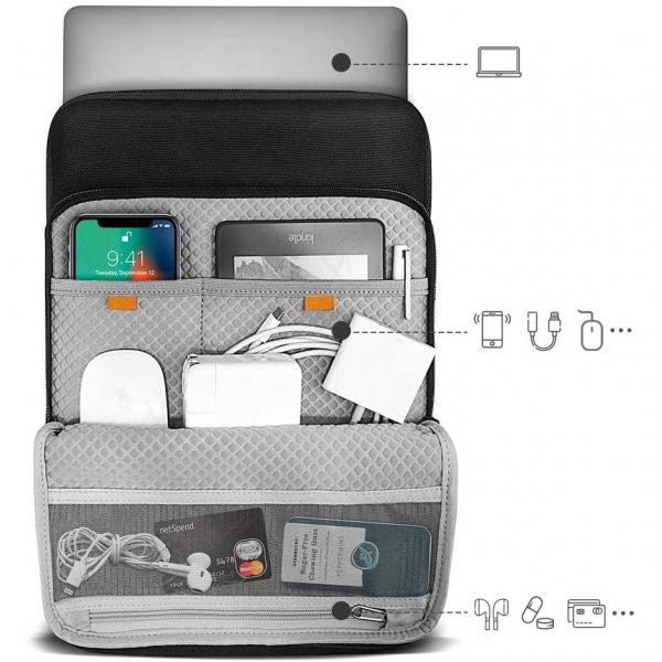 tomtoc MacBook Pro Condura Laptop Çantası (16inç)