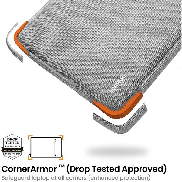tomtoc A13-C12D Laptop Çantası (13 inç)-Grey