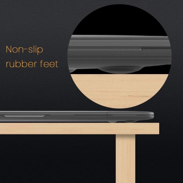 tomtoc MacBook Air Koruyucu Kılıf (Retina 13.3 inç)-Black