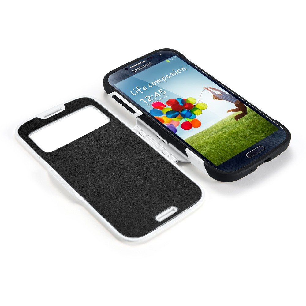 Spigen  Samsung S4 Case Slim Armor View