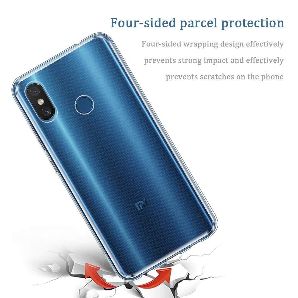 AVIDET Xiaomi Mi 8 Silikon Kılıf