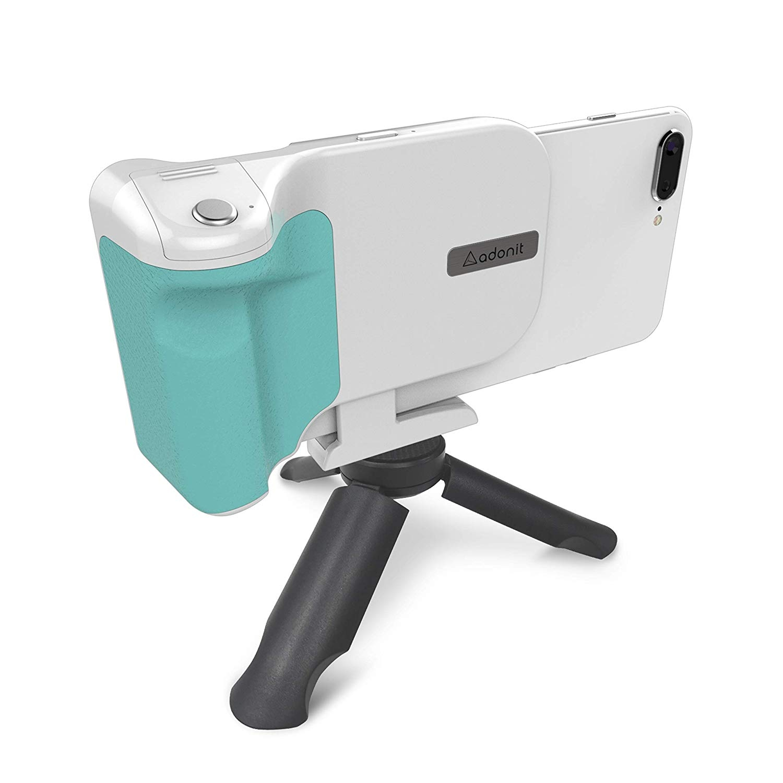 Adonit PhotoGrip Qi Bluetooth Telefon İçin Kamera Deklanşörü-White