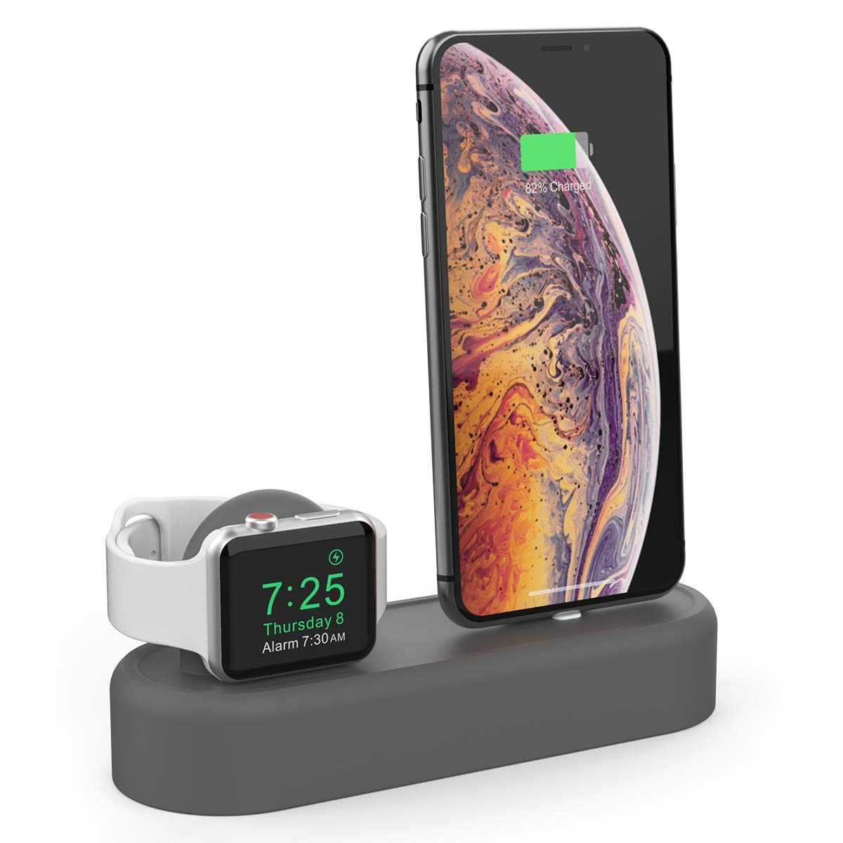 AhaStyle Apple Watch/iPhone Silikon Şarj Standı