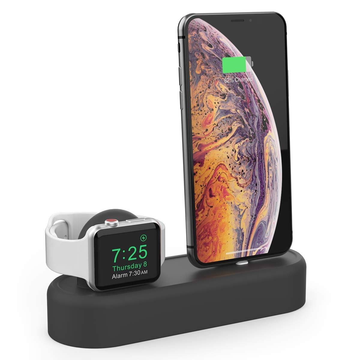 AhaStyle Apple Watch/iPhone Silikon Şarj Standı