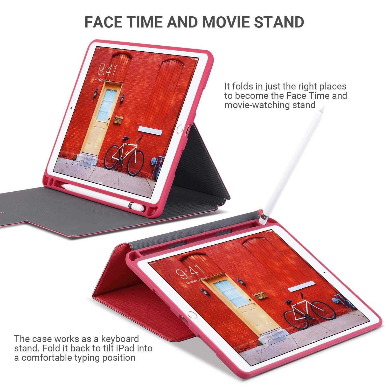 Amber And Ash iPad Pro Mimi Kalem Bölmeli Kılıf (10.5 inç)