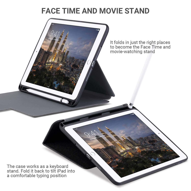 Amber And Ash iPad Pro Mimi Kalem Bölmeli Kılıf (9.7 inç)