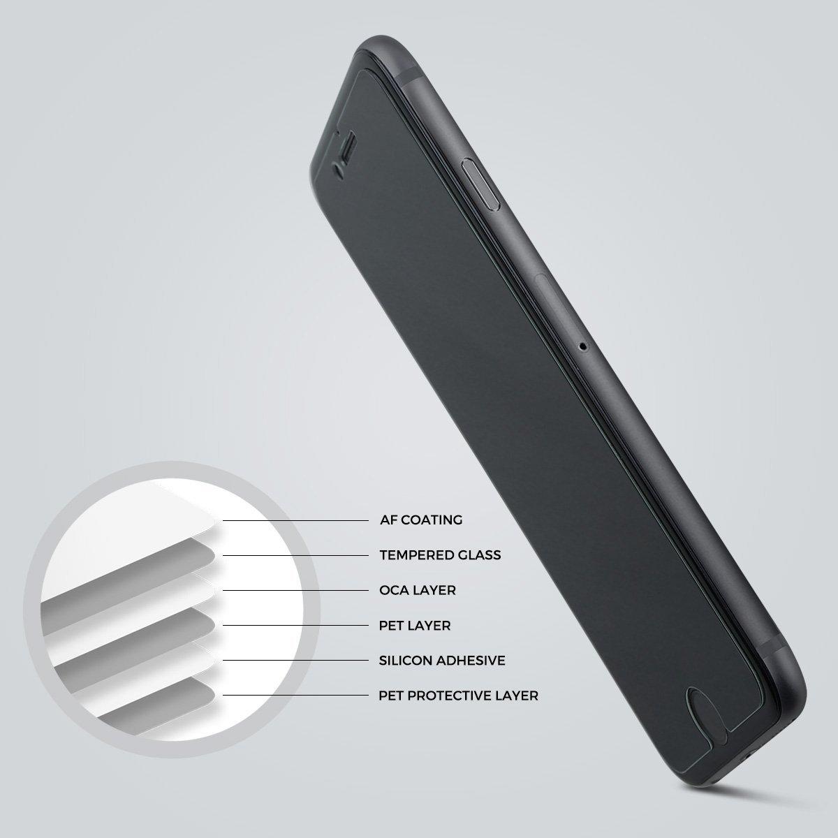 Amber And Ash iPhone 7 Plus NSG Temperli Cam Ekran Koruyucu (2 Adet)