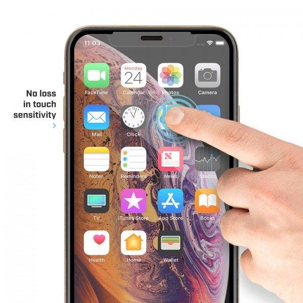 BodyGuardz iPhone XS Max Pure 2 Edge Cam Ekran Koruyucu