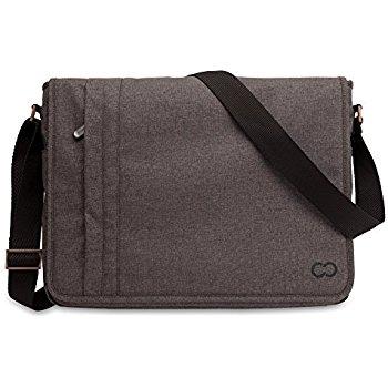 CaseCrown MacBook Air Kanvas Omuz Çantası (13 inç)-Brown