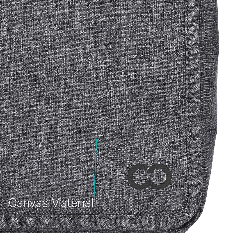 CaseCrown MacBook Air Kanvas Omuz Çantası (13 inç)-Charcoal gray