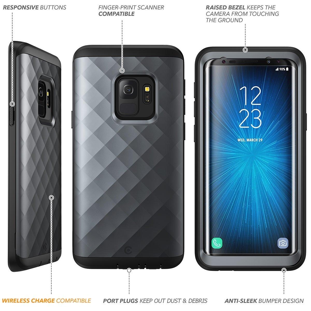Clayco Galaxy S9 Hera Serisi Kılıf