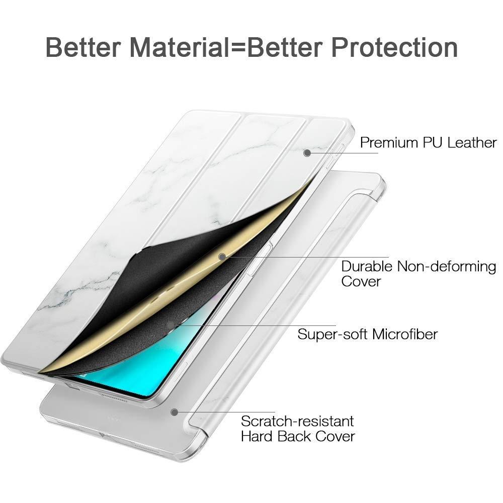 ESR iPad Pro Mermer Desenli Standlı Kılıf (11 inç)