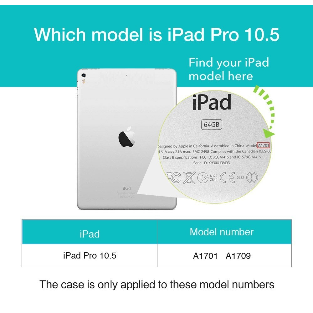 ESR iPad Pro Deri Stand Kılıf (10.5 inç)