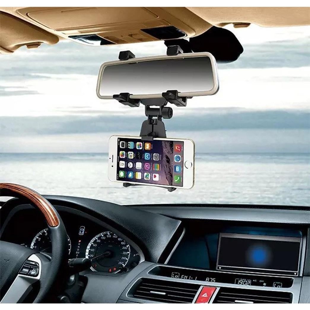 INCART Araç İçin Dikiz Aynası Telefon Tutacağı