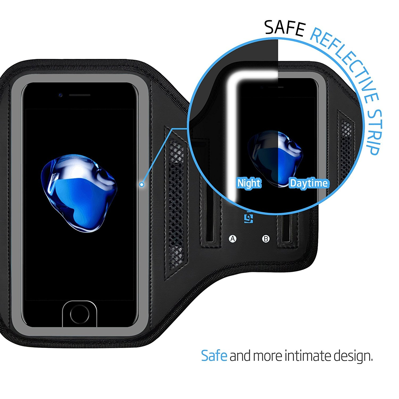 LOVPHONE iPhone 8 Plus/7 Plus/6S Plus/6 Plus Koşu Kol Bandı