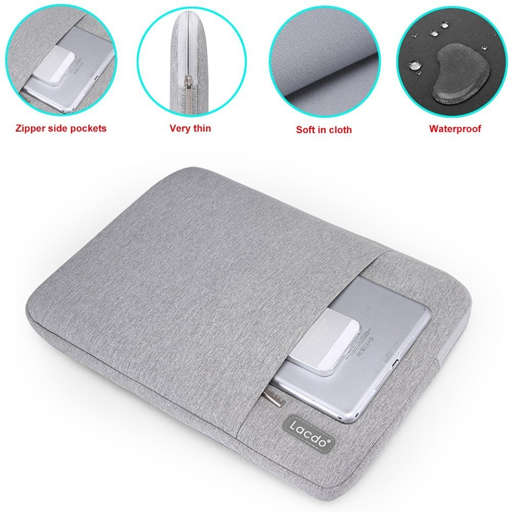 Lacdo MacBook Pro 11 inch Su Geçirmez Çanta-Gray