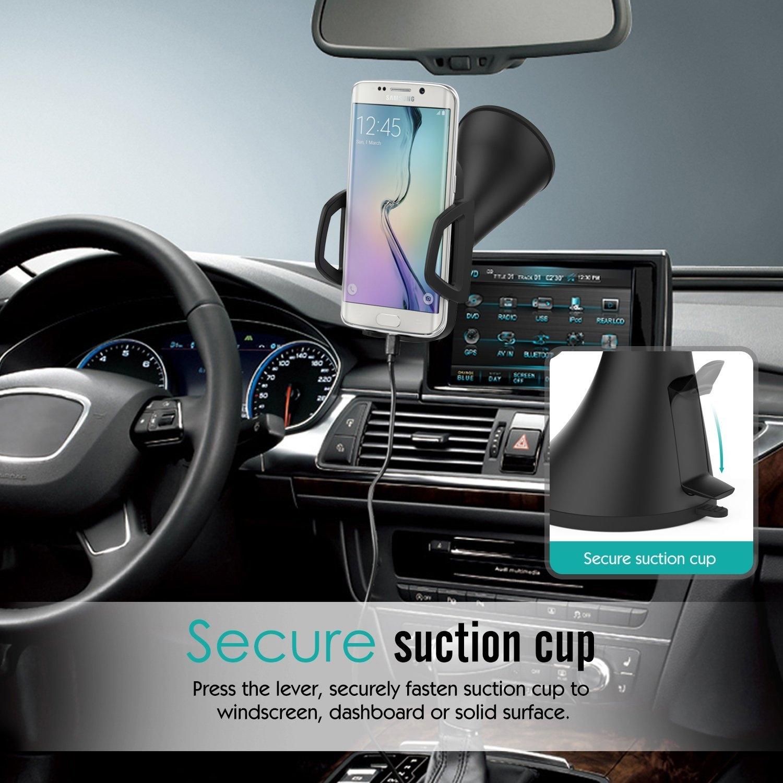 MoKo Araç İçin Kablosuz Şarj Cihazı