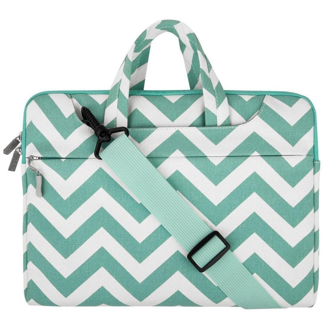 Mosiso MacBook 12 inç Chevron Style Fabric Sleeve Çanta