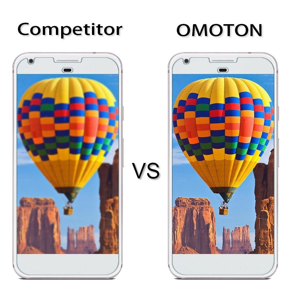 OMOTON Google Pixel Temperli Cam Ekran Koruyucu (2 Adet)