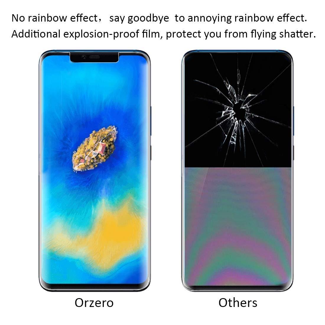 Orzero Huawei Mate 20 Pro Ekran Koruyucu (3Adet)