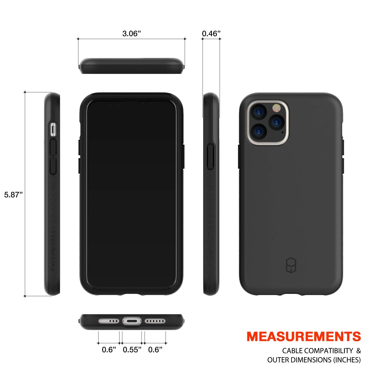 Patchworks Apple iPhone 11 Pro Max Level ITG Kılıf (MIL-STD-810G)