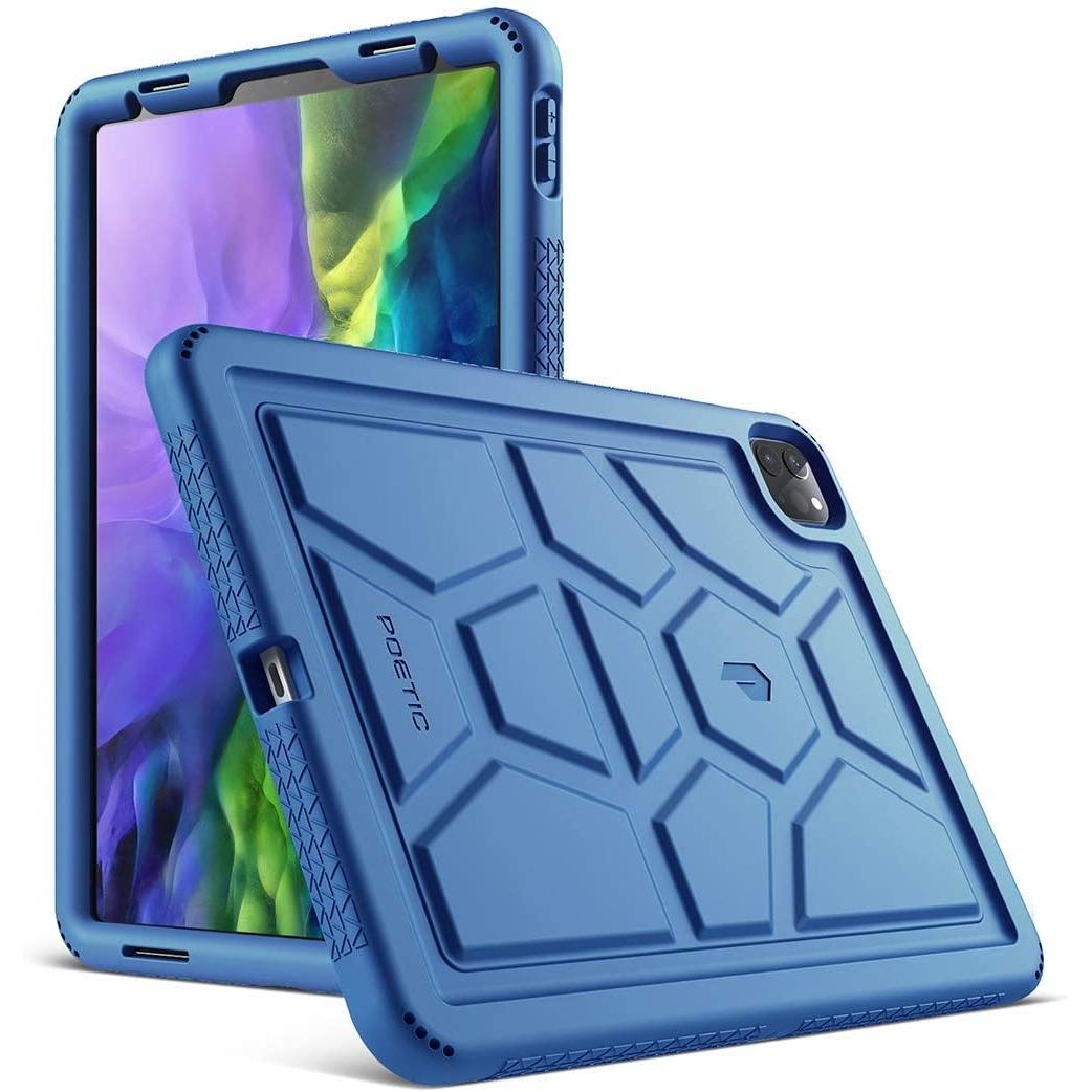 Poetic Apple iPad Pro TurtleSkin Serisi Kılıf (11 inç)(2020)-Navy