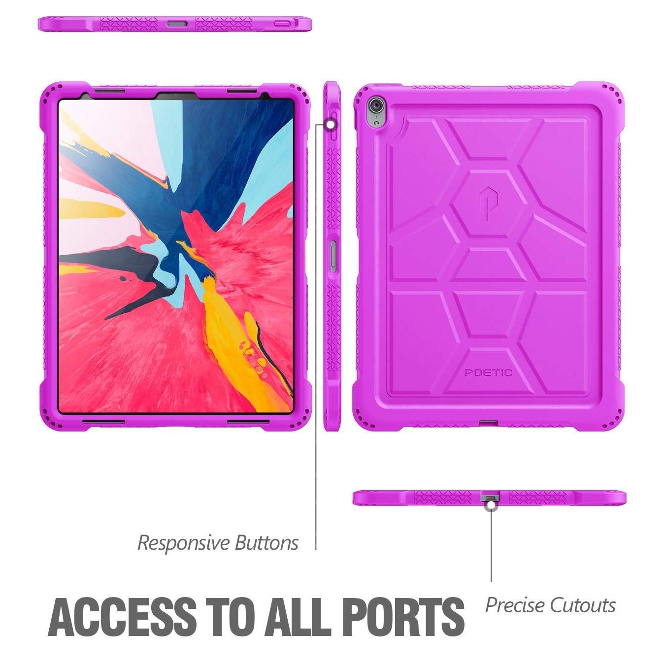 Poetic iPad Pro TurtleSkin Serisi Kılıf (12.9 inç) (2018)