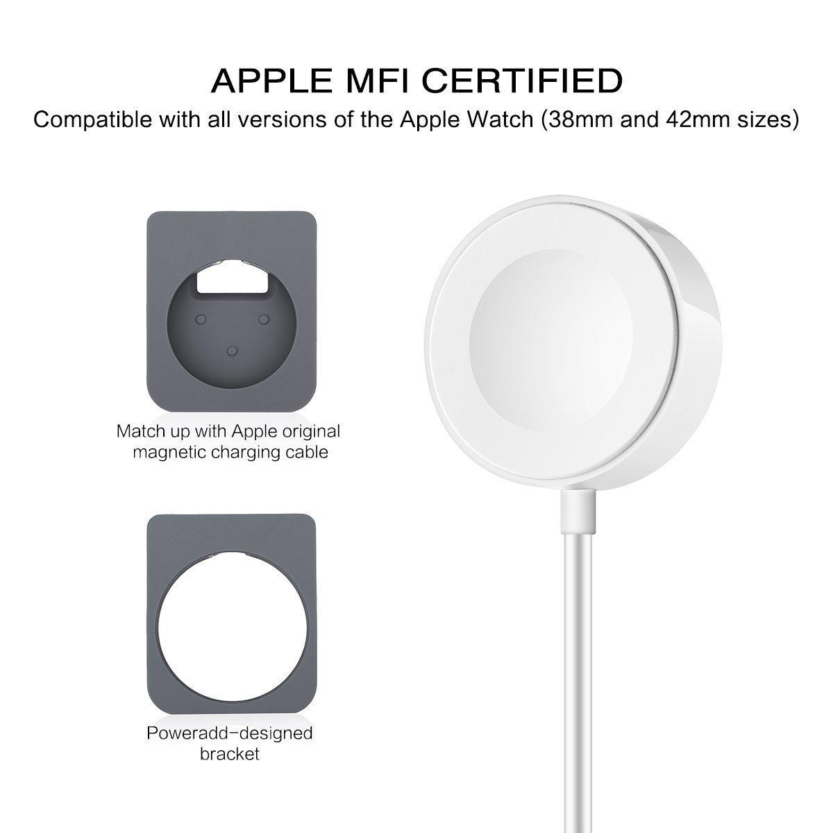 Poweradd Apple Watch Manyetik Şarj Standı