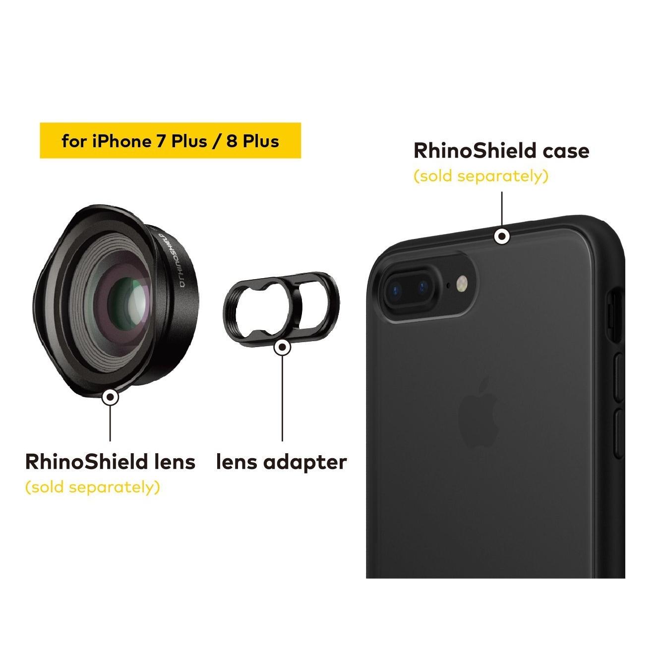 RhinoShield iPhone 8 Plus Lens Klipsi
