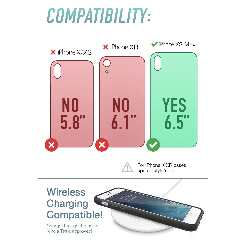 Silk iPhone XS Max Kartlıklı Kılıf
