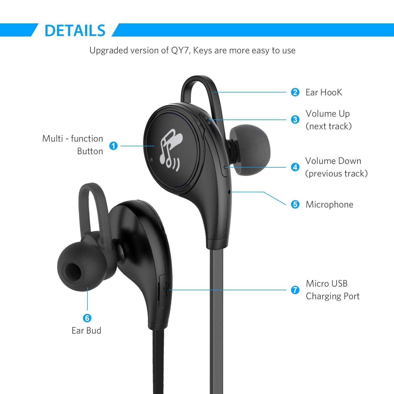 SoundPEATS QY8 Bluetooth Kulak İçi Kulaklık