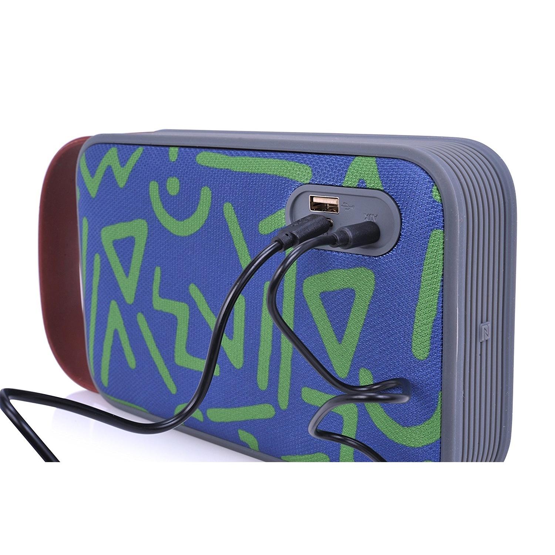 TRAKK HARMONY Bluetooth Bataryalı Hoparlör-Green