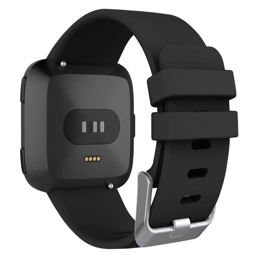 UMTELE Fitbit Versa Silikon Kayış (Small)