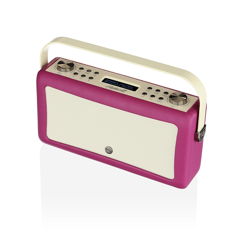 VQ HEPMKII Home Audio Bluetooth Radyo-Deep Purple