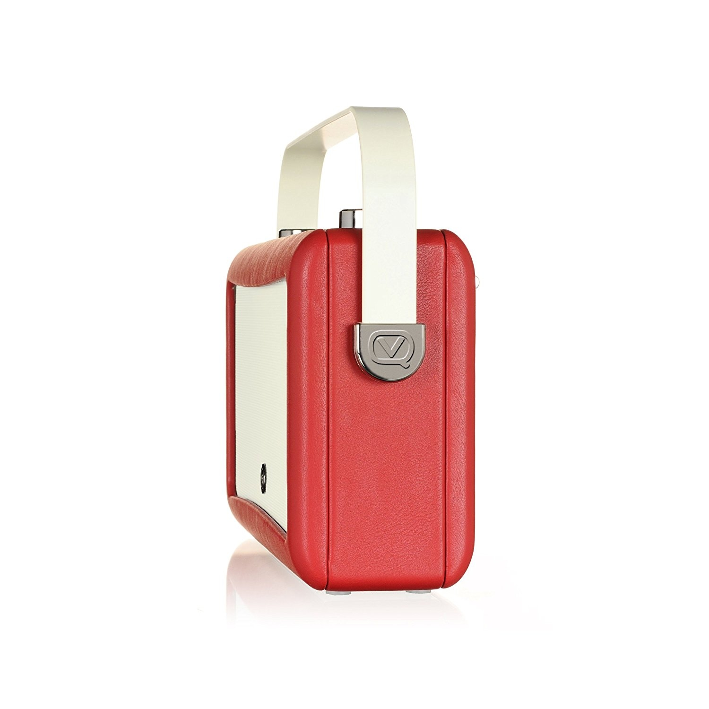 VQ HEPMKII Home Audio Bluetooth Radyo-Red